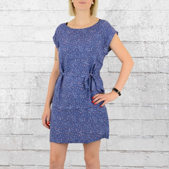 Greenbomb Mellow Kleid Bike Spots blau