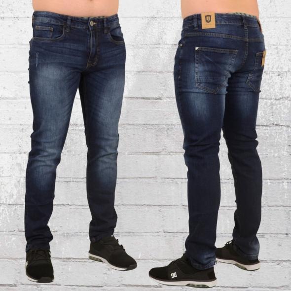Indicode Jeans Hose Tony denim blau