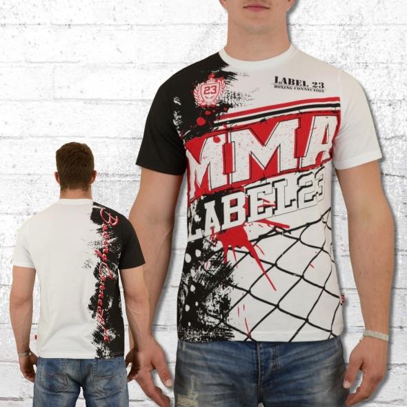 Label 23 MMA 2018 Herren T-Shirt weiss