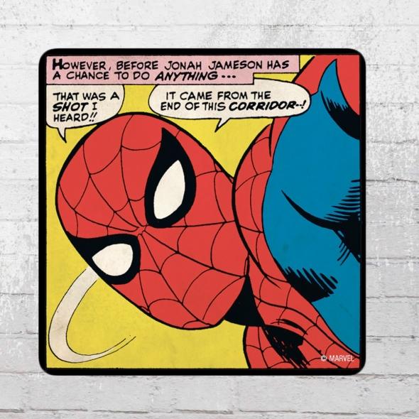 Logoshirt Coaster Marvel Spider-Man That Was 6er Set Untersetzer bunt