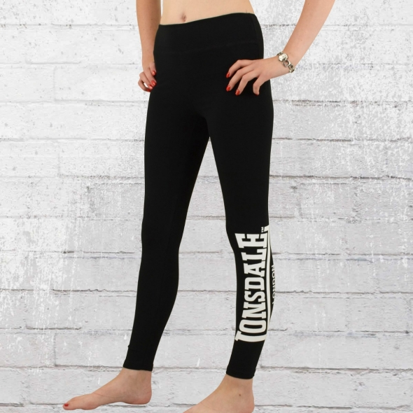 Lonsdale London Sport Leggings Alfold High Waist schwarz