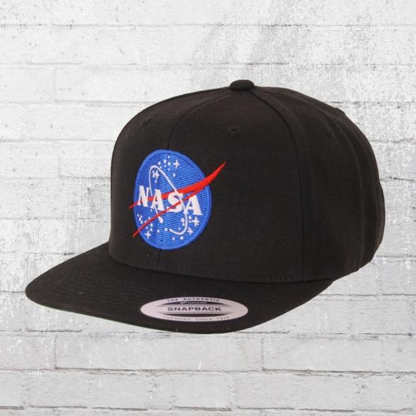 Mister Tee Classic Snapback Cap NASA schwarz