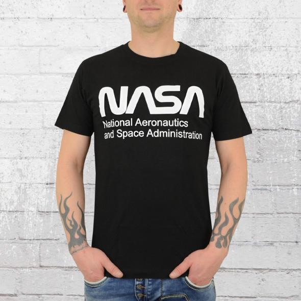 Mister Tee Männer T-Shirt Nasa schwarz