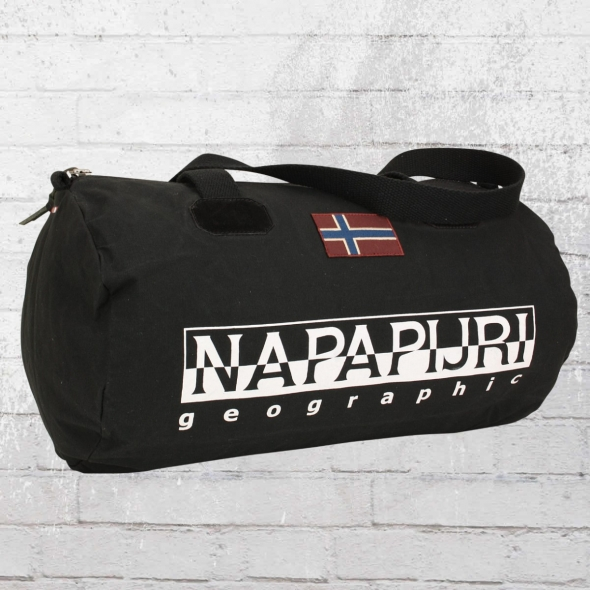 Napapijri Kleine Sport Tasche Bering schwarz