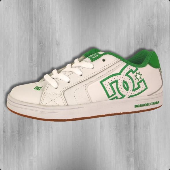 DC Shoes Kinderschuhe Youth Net white gum