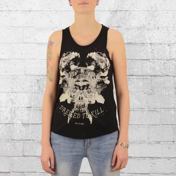 Religion Clothing Damen Amity Top schwarz