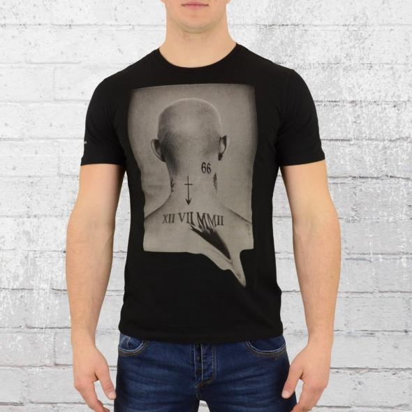 Religion Herren T-Shirt Head Tee schwarz