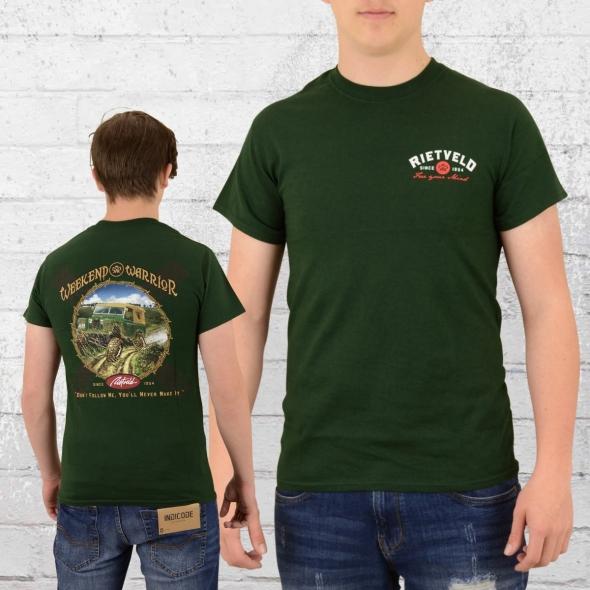 Rietveld T-Shirt Weekend Warrior grün