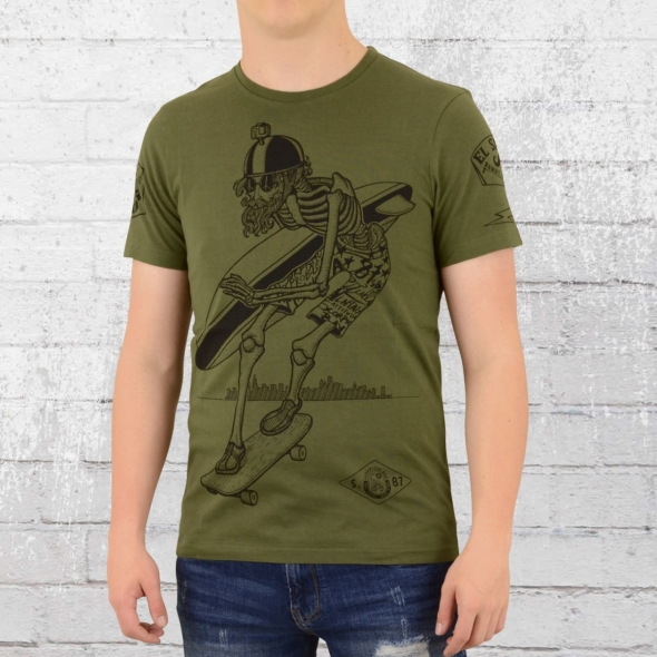 Scorpion Bay Herren T-Shirt Quintana oliv grün