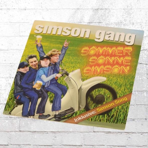 Simson Gang CD Sommer Sonne Simson