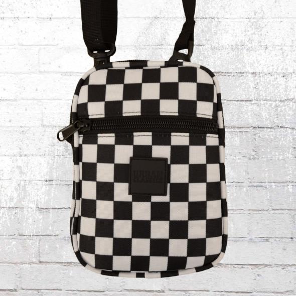 Urban Classics Herren Handtasche Festival Bag schwarz weiss