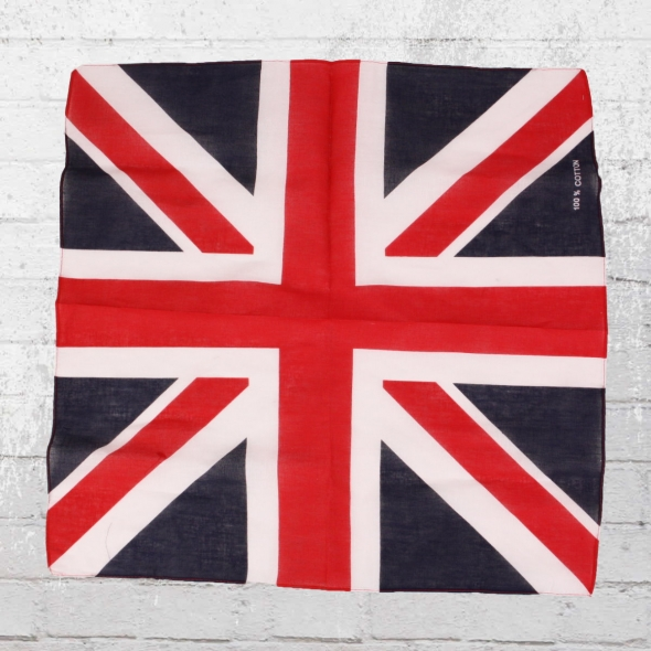 Viper Bandana Tuch Union Jack blau weiss rot