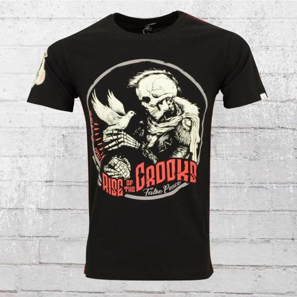 Yakuza Premium Herren T-Shirt 2500 False Peace schwarz
