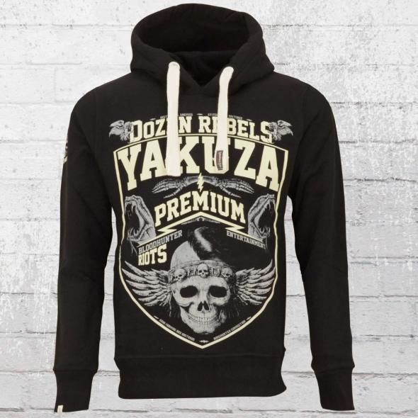 Yakuza Premium Kapuzenpullover Herren Dozen Rebels schwarz