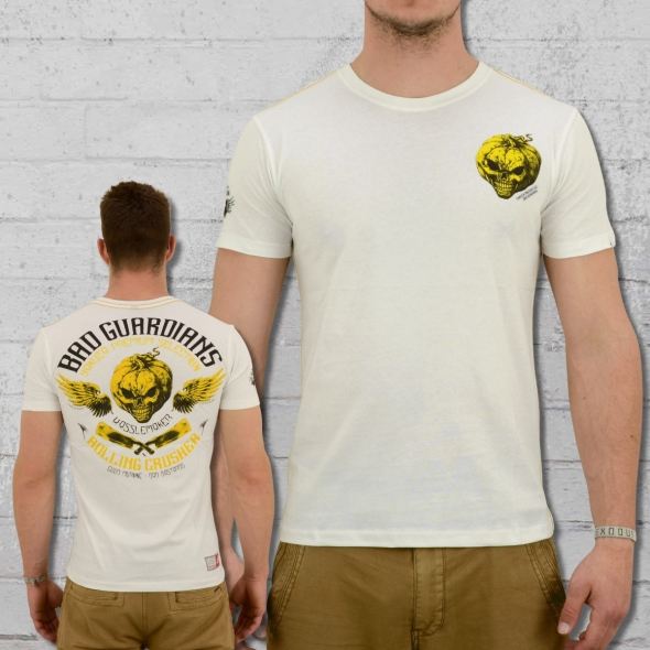 Yakuza Premium Männer T-Shirt Halloween YPS 2216 weiss