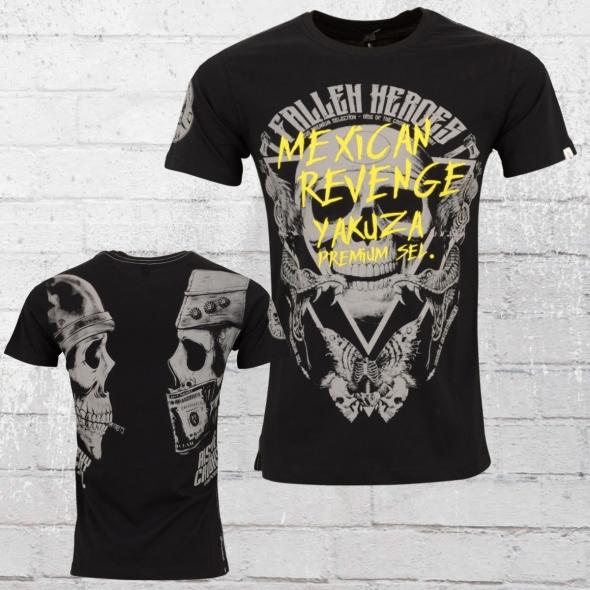 Yakuza Premium Männer T-Shirt Mexican Revenge schwarz