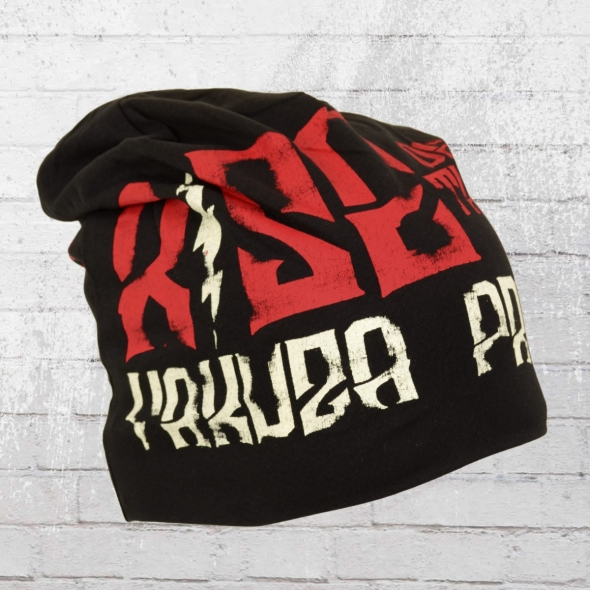 Yakuza Premium Wende-Mütze Crooks Beanie schwarz