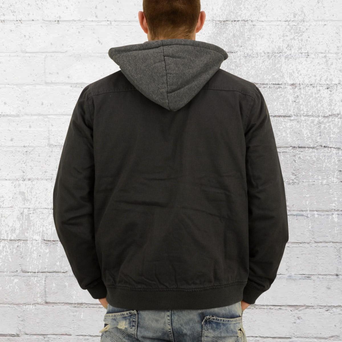 74e236f94 Order now | Billabong Mens Jacket Barlow Twill charcoal