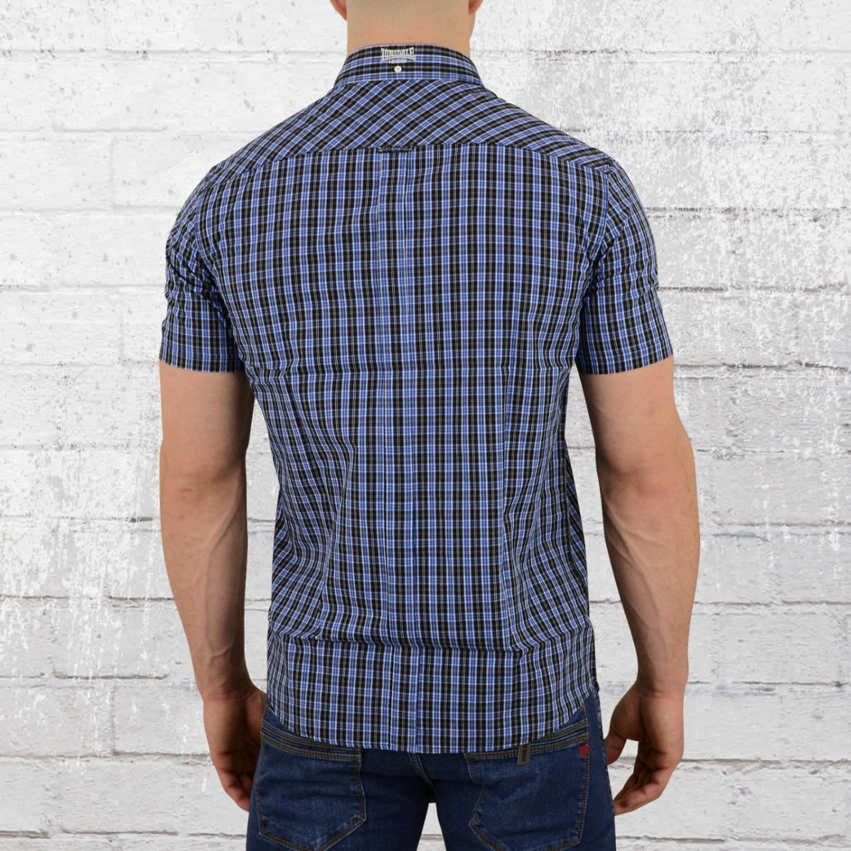 MERC Lennox navy paisley-print long-sleeve cotton shirt size medium-XXL