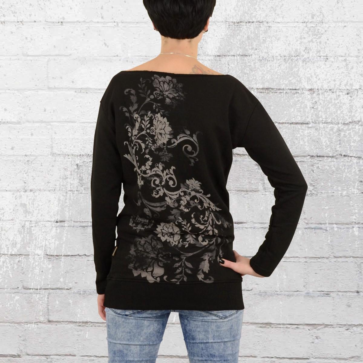 jetzt bestellen yakuza damen sweatshirt comes cord. Black Bedroom Furniture Sets. Home Design Ideas