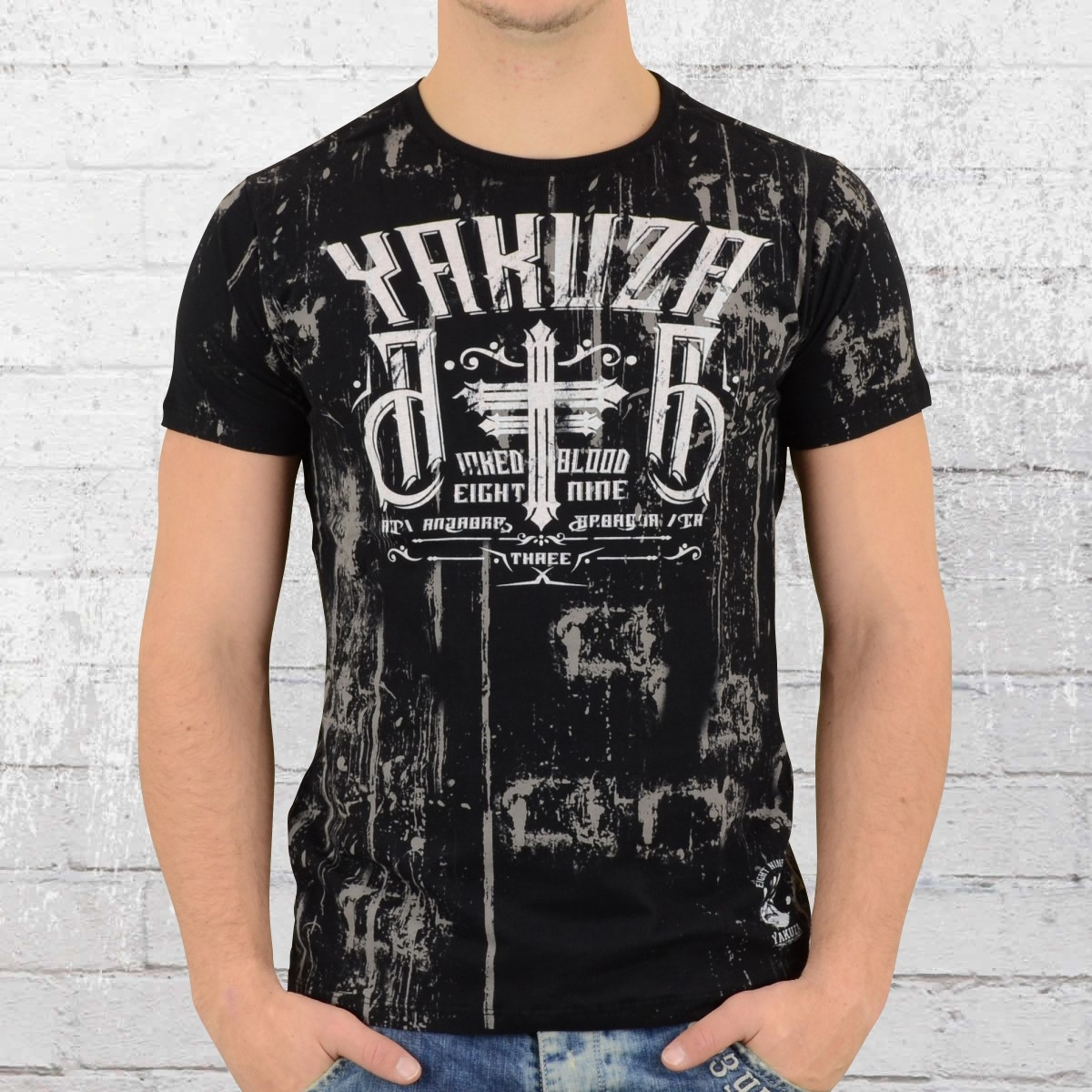 order now yakuza t shirt men inked in dark blood tsb. Black Bedroom Furniture Sets. Home Design Ideas