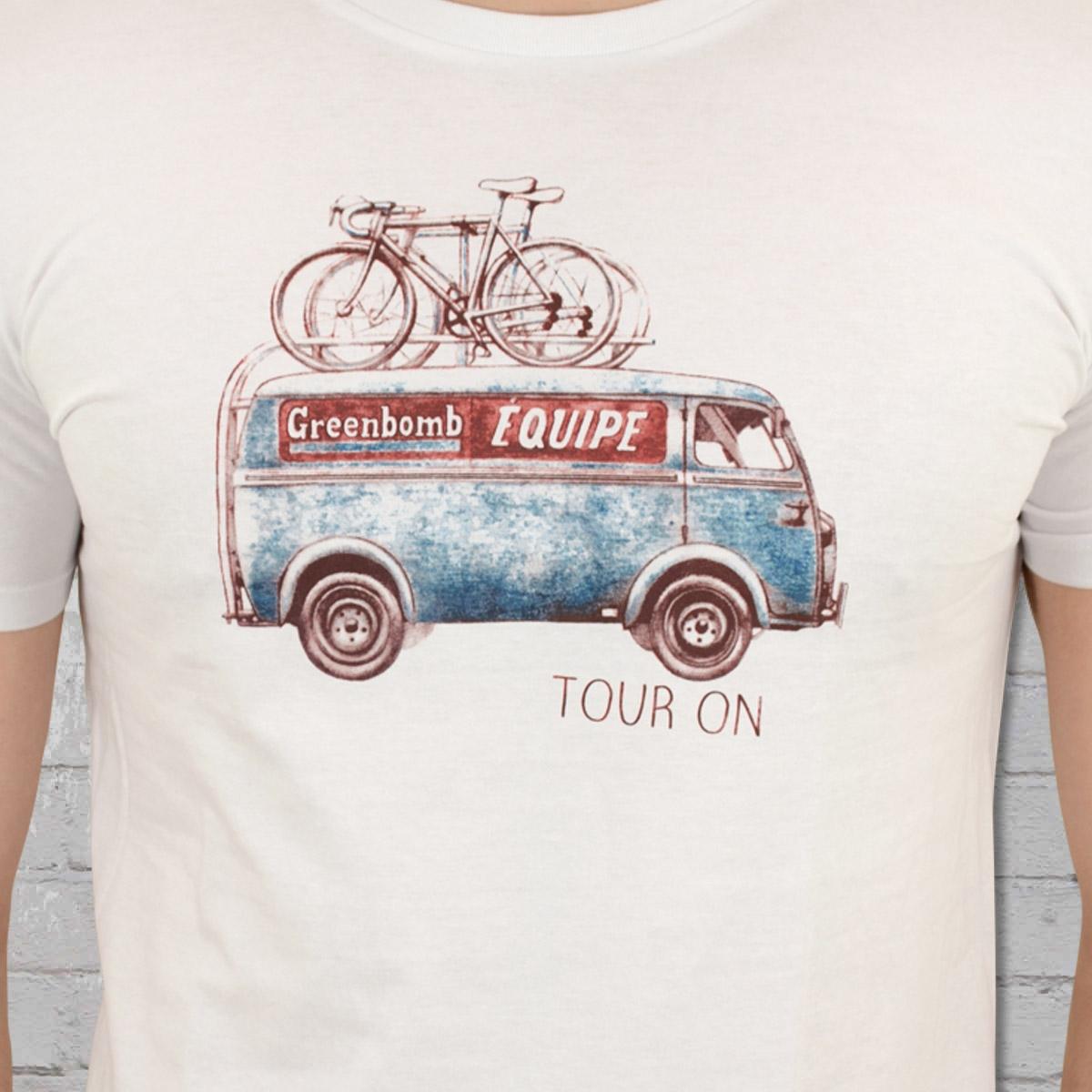 Jetzt bestellen   Greenbomb Fahrrad Männer T-Shirt Bike On Tour ... 3a52293921
