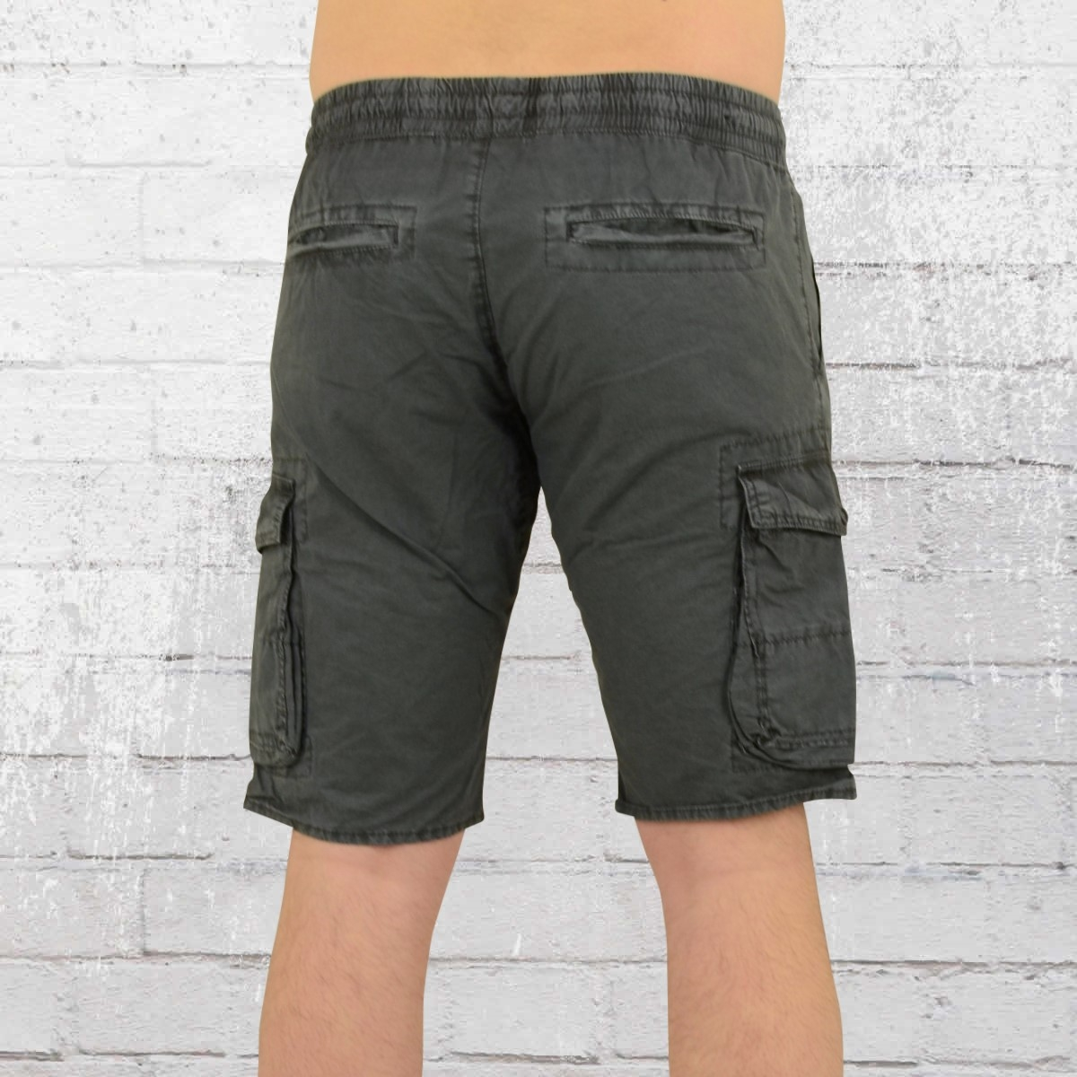 28525a84b901f8 Order now | Jet Lag Mens Cargo Short With Stretchy Waistband 17-129 grey