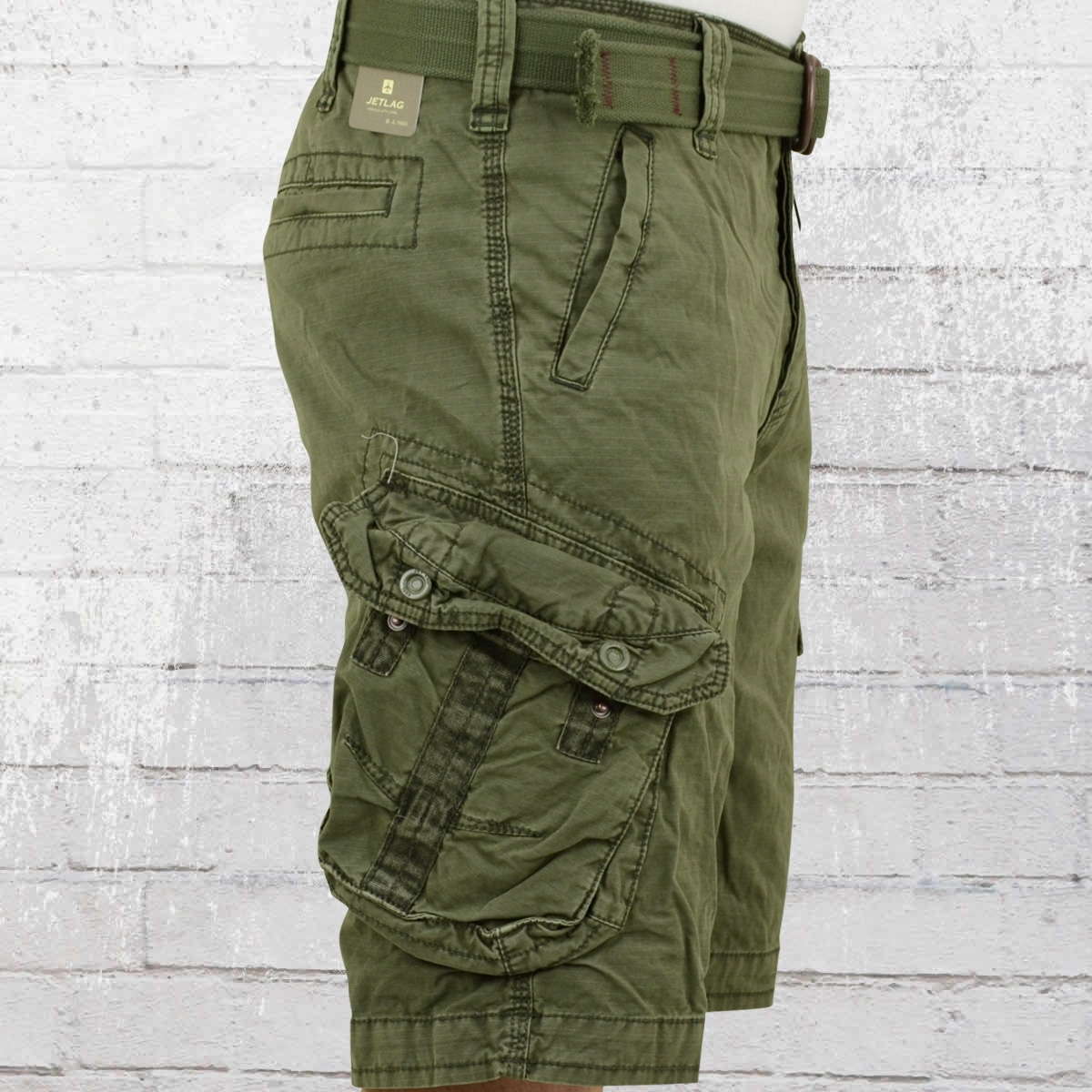 order now jet lag mens cargo shorts take off 3 olive. Black Bedroom Furniture Sets. Home Design Ideas