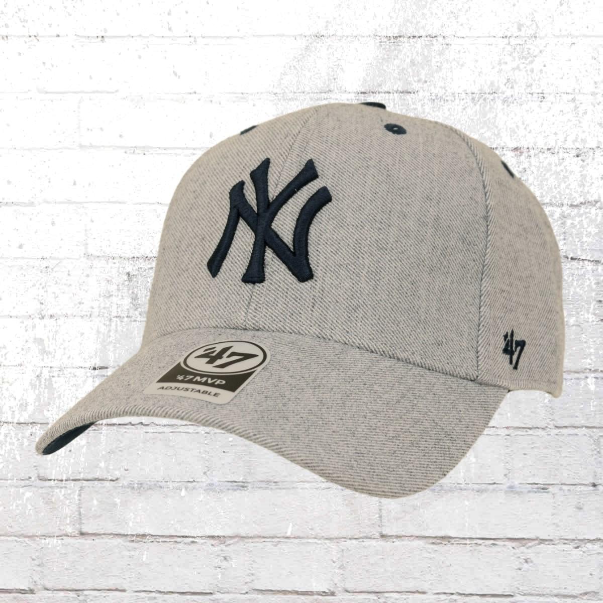 MLB New York NY Yankees Cap Basecap Baseballcap MVP 47 Brand schwarz Kappe