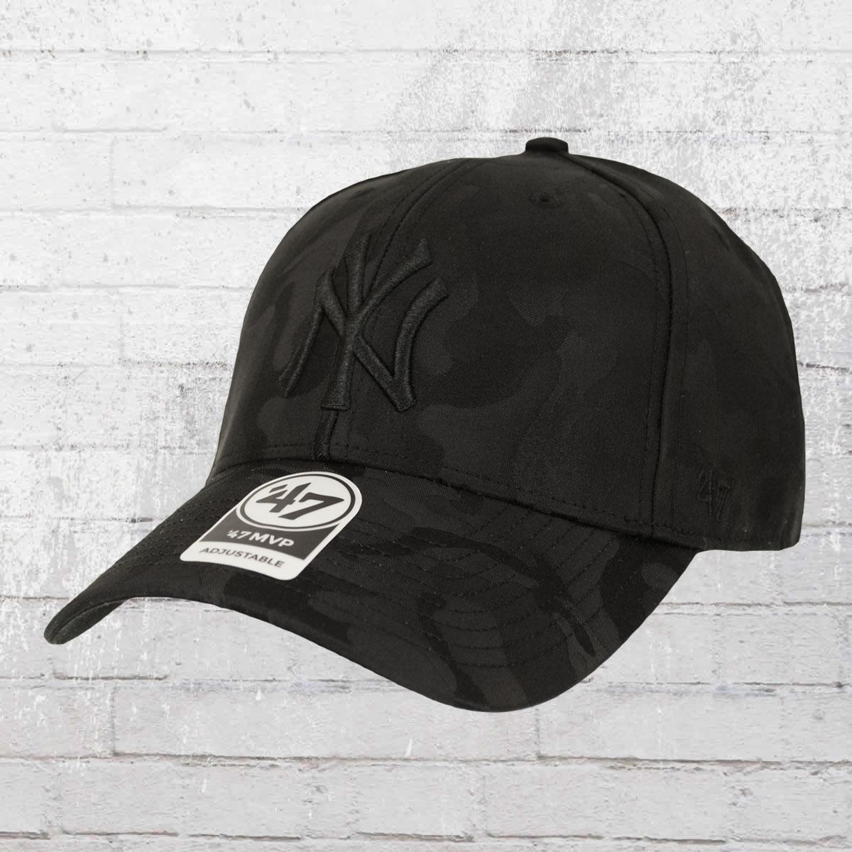 741b3eb3ef97f 47 Brands Jigsaw Cap New York Yankees black. ›‹ «