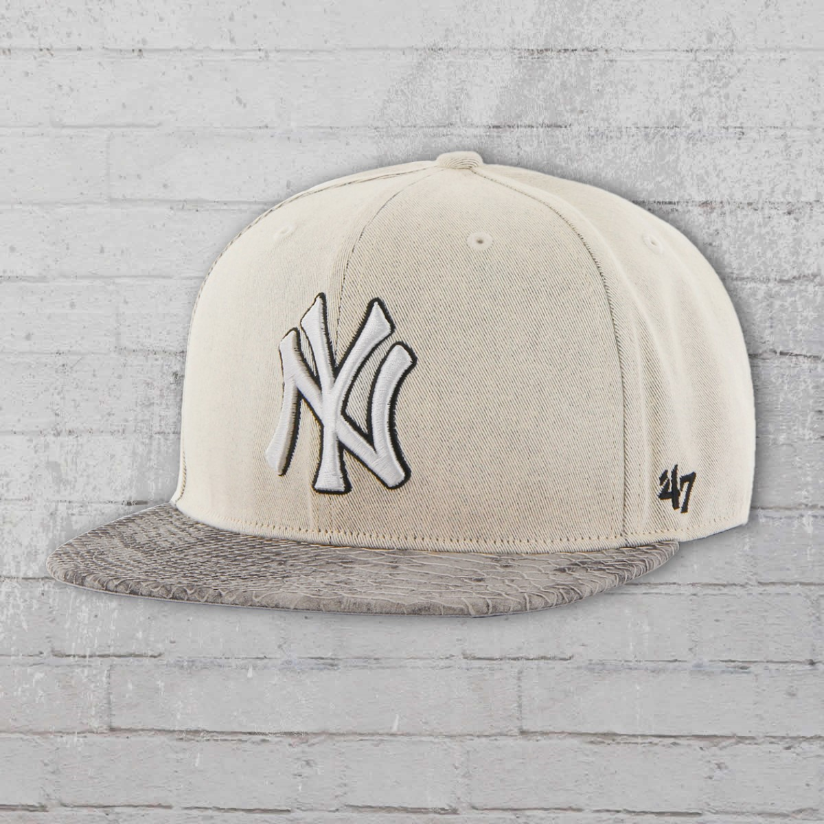 ... official 47 brands mbl hat new york yankees cap grey snake 3a33f f8d4e 914198e0117