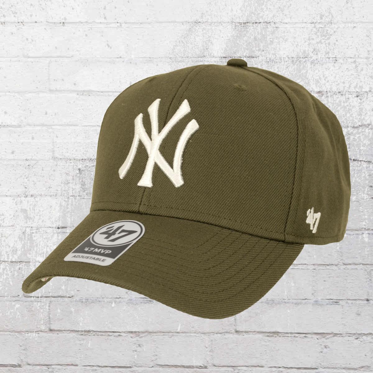 656a5d5233b 47 Brands MVP Snapback New York Yankees Cap olive. ›‹ «