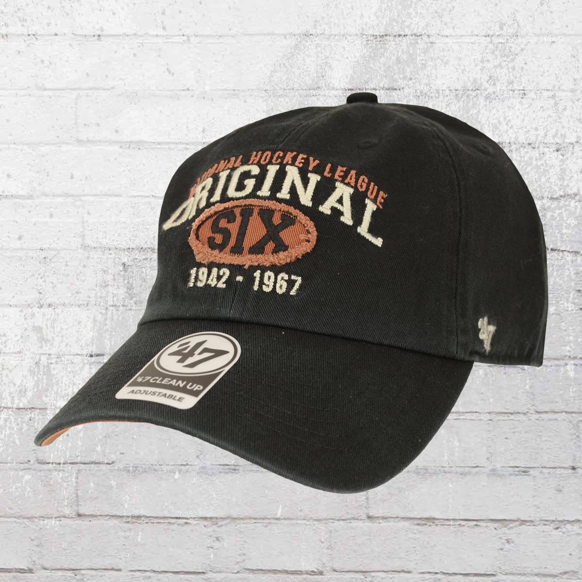 new product a23a3 e6ff3 47 Brands NHL Original Six Henrick Clean Up Cap black. ›‹ «