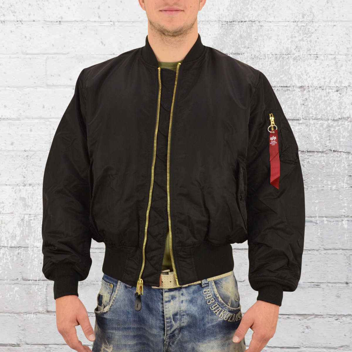 separation shoes 208c9 91e54 Order now | Alpha Industries Mens MA1 Bomber Jacket black