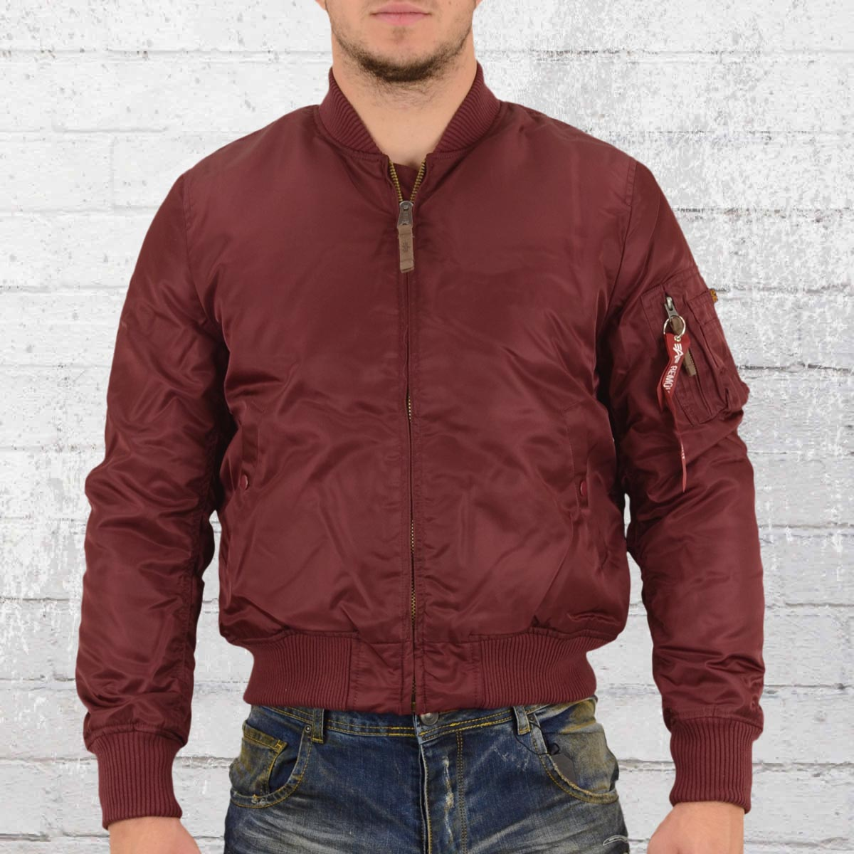 the latest 917c4 040f1 Order now | Alpha Industries Mens Bomber Jacket MA 1 VF59 ...