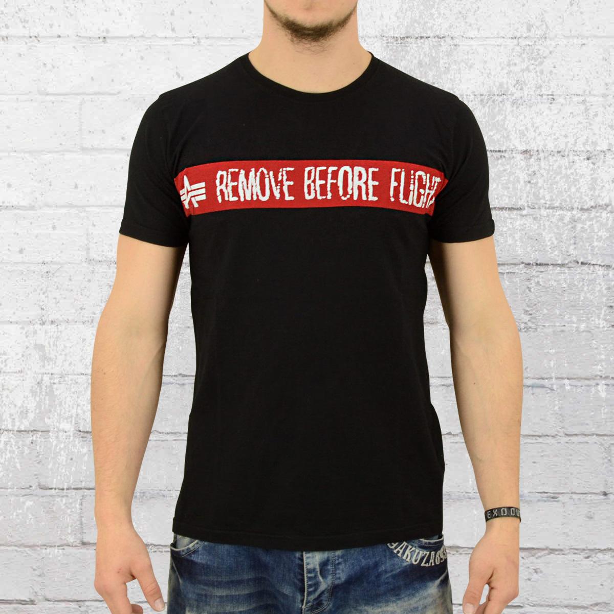 order now alpha industries t shirt men rbft black. Black Bedroom Furniture Sets. Home Design Ideas