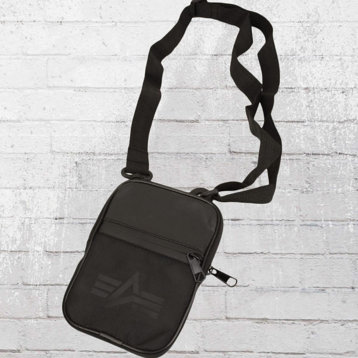 ea4e87925ca Alpha Industries Utility Crossbody Bag black. ›‹ «