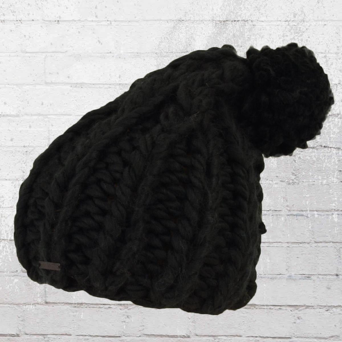 95816d62074 Billabong Women Knit Bobble Hat Pistache Beanie black. ›‹ «