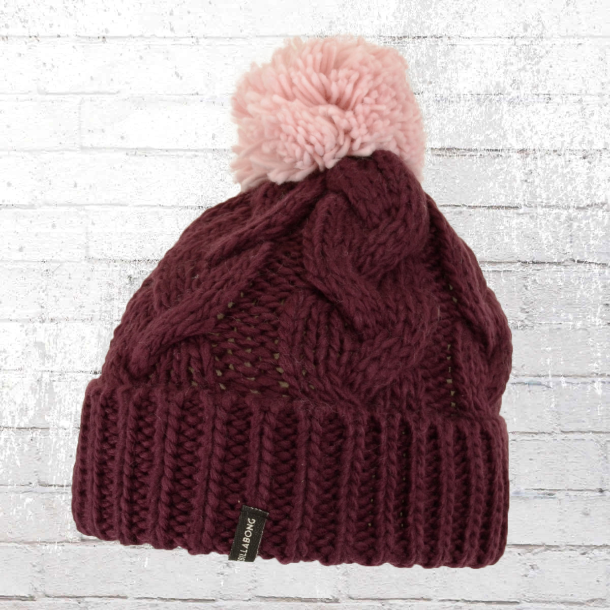 10f6cf3cc99da6 Order now | Billabong Womens Bobble Hat Styx Pom Beanie burgundy