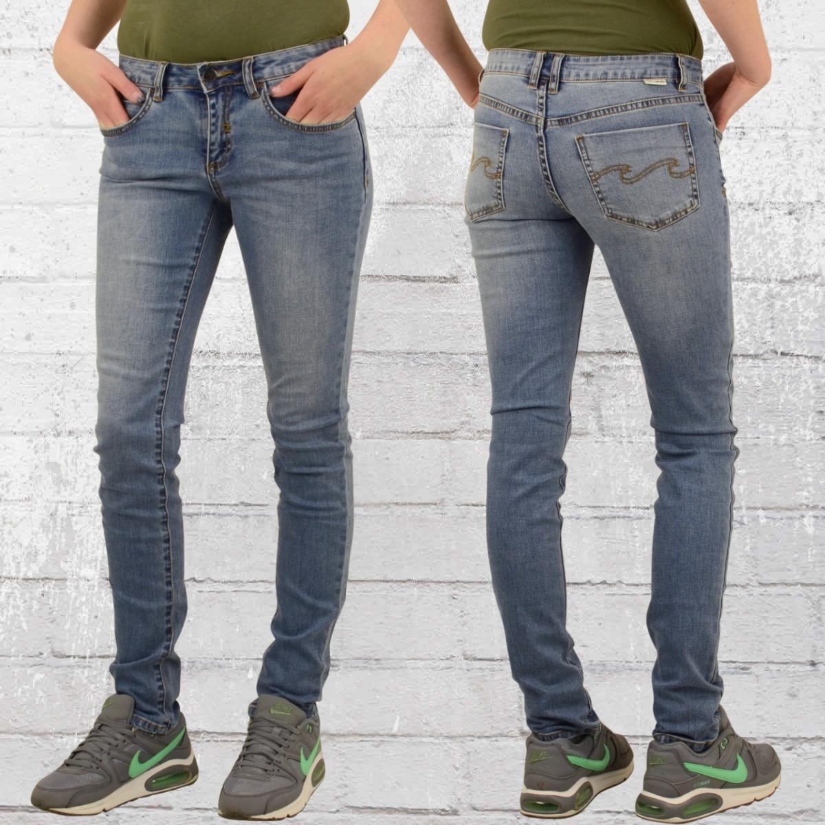 jetzt bestellen billabong damen skinny jeans hose tender. Black Bedroom Furniture Sets. Home Design Ideas