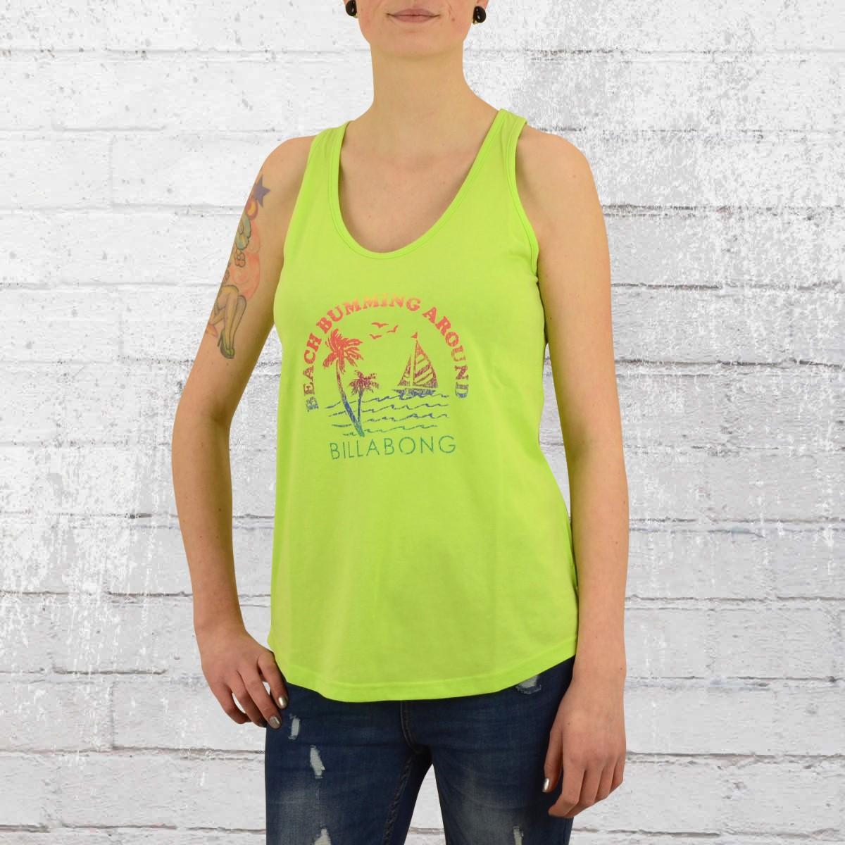 0c7d1506a82878 Billabong Women Tank Top escape neon green. ›‹ «