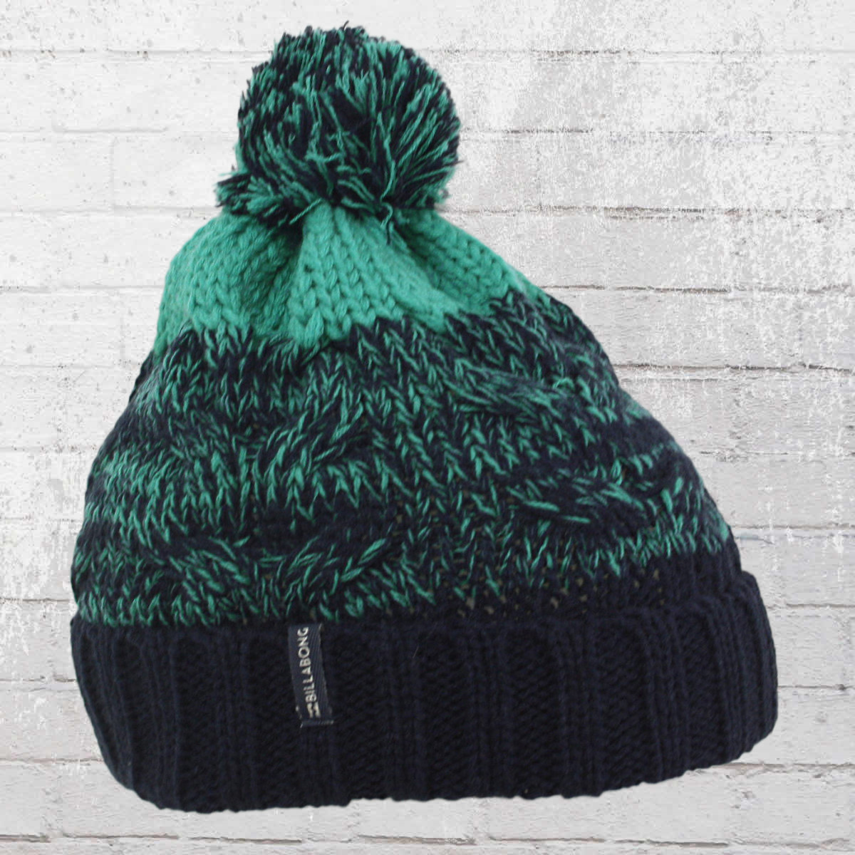 9d6e2c94a9 Billabong Women Winter Hat Echo Beanie navy turquoise. ›‹ «