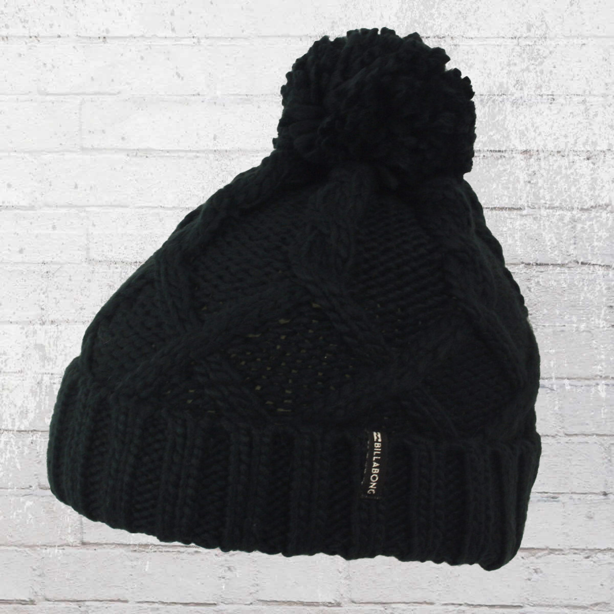 16de8f1414 Billabong Women Winter Hat Sweet Snow Beanie off black. ›‹ «