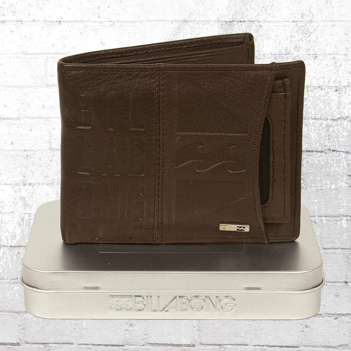51c8d98f7 Order now | Billabong Men Purse Scope Leather Wallet brown