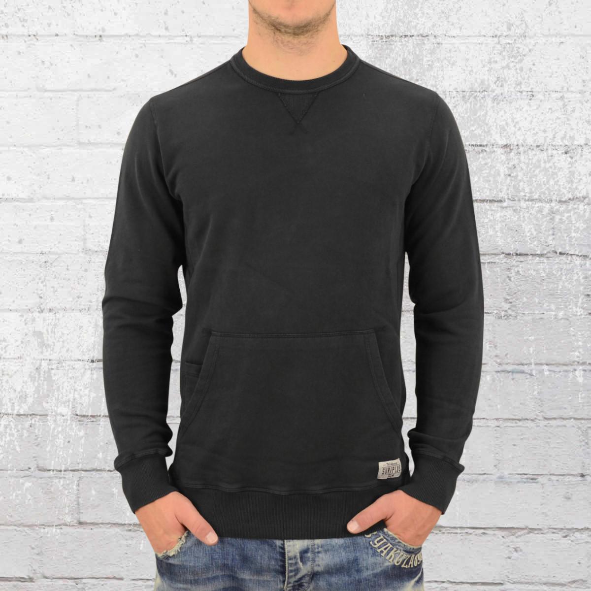 38c6f6af06fd Order now | Billabong Mens Wave Washed Crew Sweater vintage black