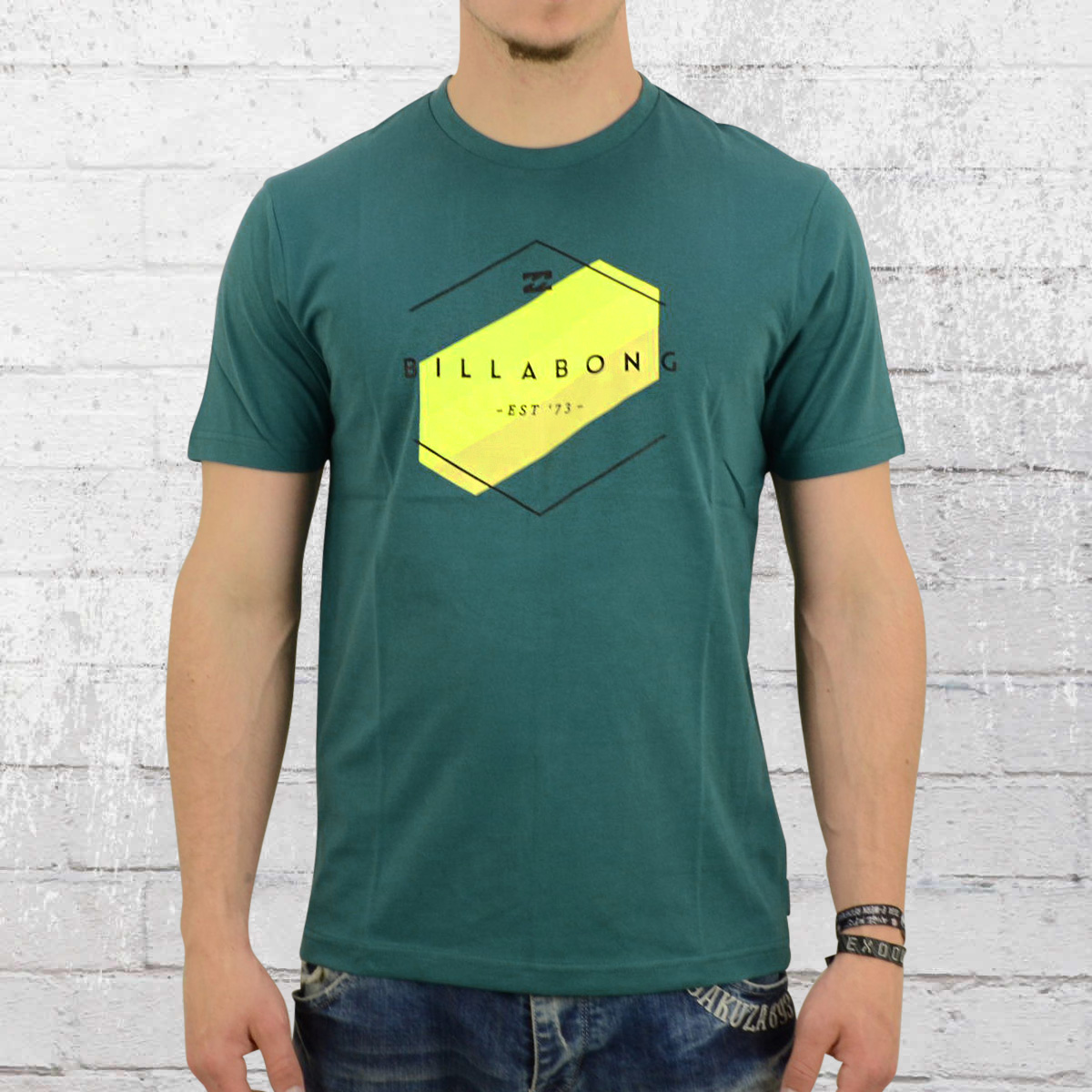billabong tshirt  Order now | Billabong Men T-Shirt Obstacle petrol