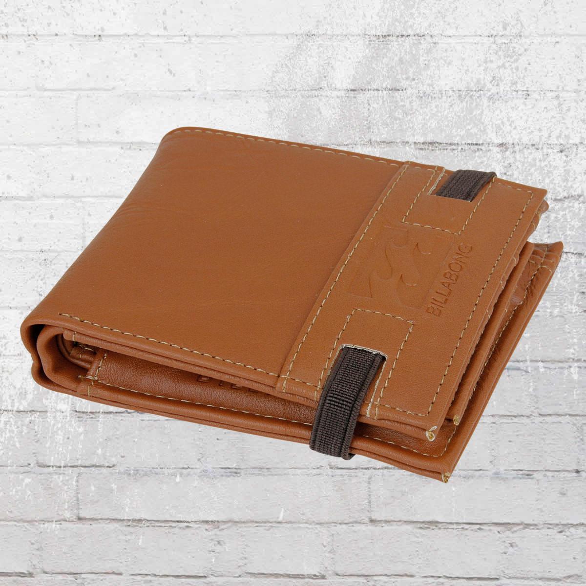 f3fab23f39179 Billabong Portmonee Locked Wallet Geldbörse braun. ›‹ «