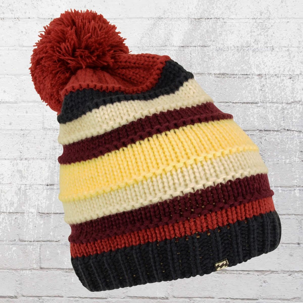 Billabong Bobble Hat Inna Beanie multicolour striped. ›‹ « 0567d207f1d