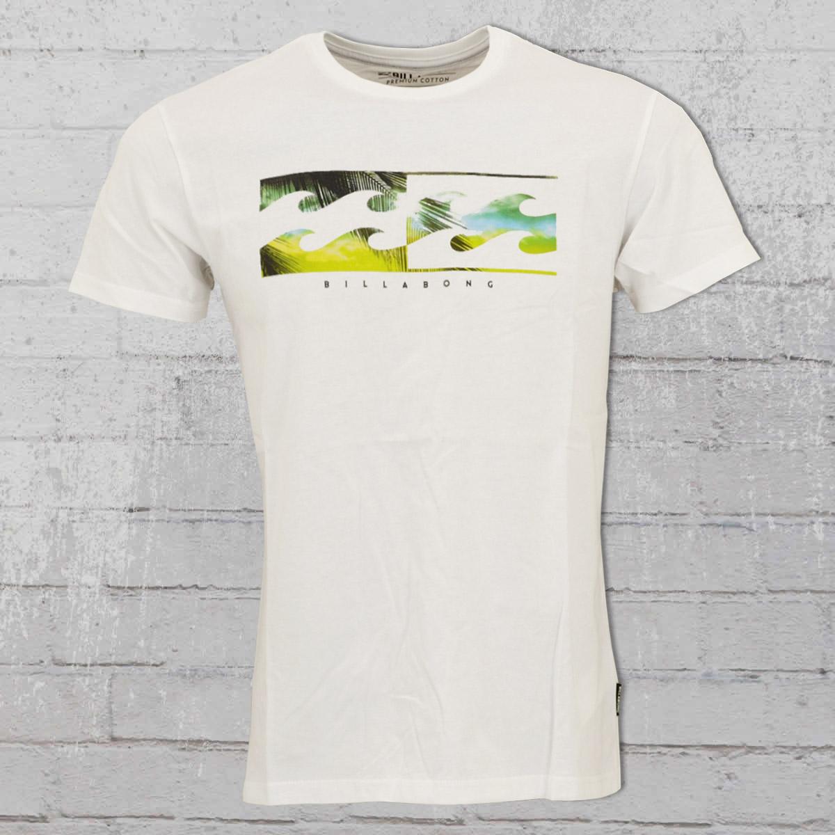 297b6501d96989 Billabong T-Shirt Herren Inverse weiss. ›‹ «
