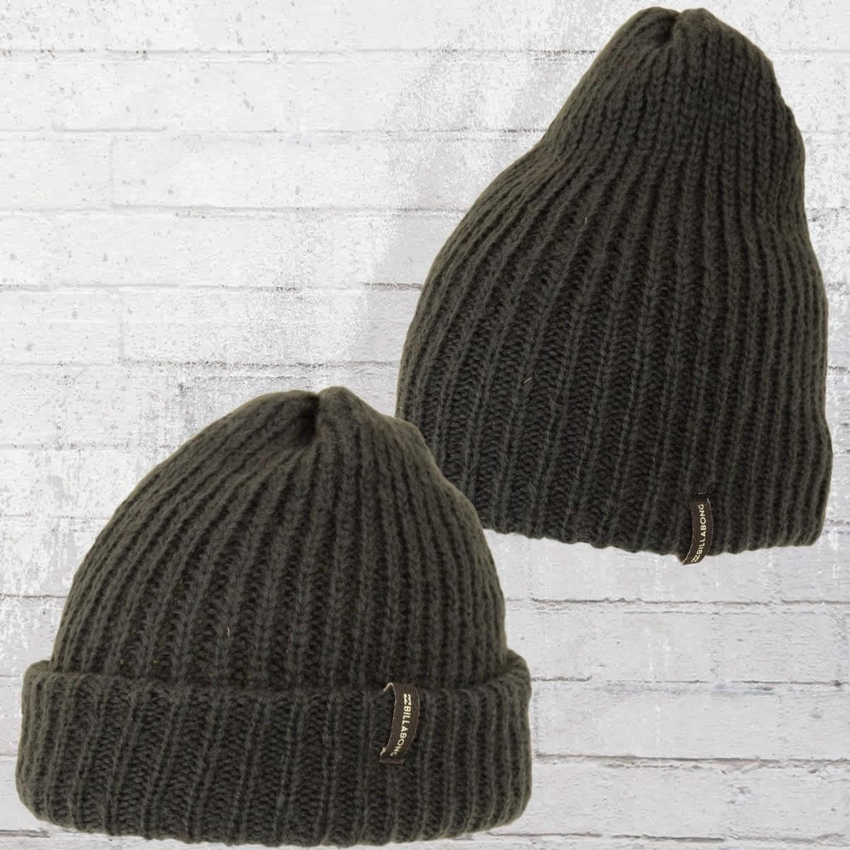 335735028a7e30 ... buy billabong beanie mountain tripe knit cap anthra olive. u203au2039  8f483 18719